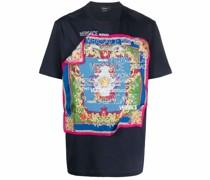 T-Shirt mit Barocco-Schal