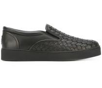 Sneakers aus Intrecciato-Leder - Unavailable