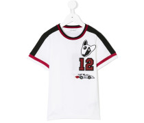 number patch T-shirt