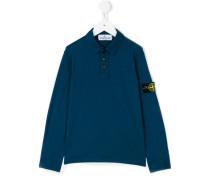 Poloshirt mit Logo-Patch - kids