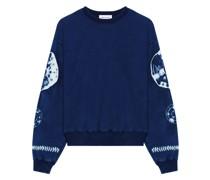 Indigo Shibori Sweatshirt