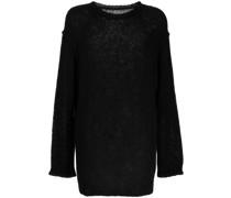 Langer Distressed-Pullover