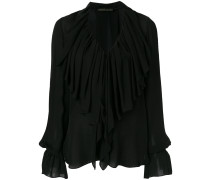 large ruffles blouse