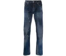 Halbhohe 'Sid' Tapered-Jeans