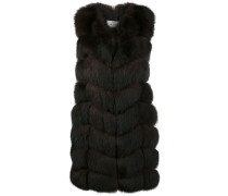 fox panelled gilet