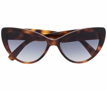 tortoiseshell-effect tinted sunglasses