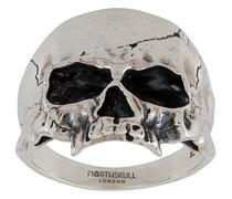 'Disfigured Medius Skull' Ring