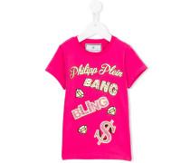 - 'Bang' T-Shirt - kids - Baumwolle/Elastan - 4 J.