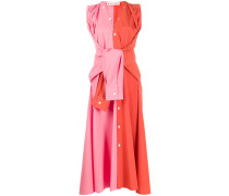 Zweifarbiges Kleid