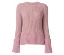 layered sleeve sweater