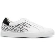 Smithy's Sneakers mit Monogramm-Print