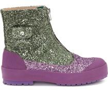 Duck Stiefel im Glitter-Look