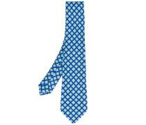 - diamond print tie - men - Seide - Einheitsgröße