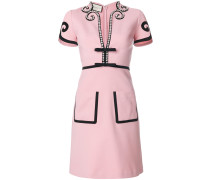 Viscose jersey dress with crystals