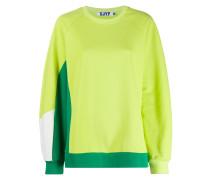 Zweifarbiges Sweatshirt