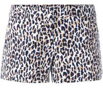 'Thora' Shorts mit Animal-Print