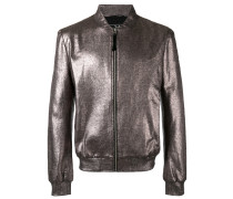 Bomberjacke mit Metallic-Effekt - men