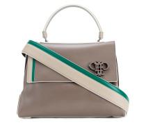 - Mittelgroße Handtasche mit Logo-Schild - women