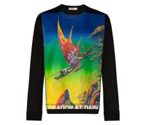 """Sweatshirt mit """"Dragon at Dawn""""-Print"""