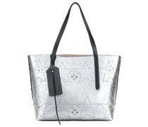 Twist East West star tote