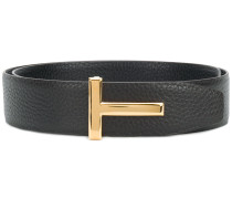 pebbled T belt