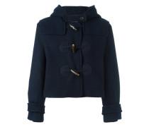 hooded duffle jacket