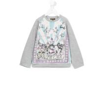 Sweatshirt mit Zirkus-Print