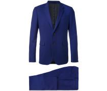 Zweiteiliger Anzug - men - Viskose/Wolle - 50