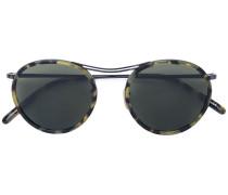 'MP-3' Sonnenbrille mit rundem Gestell