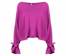 Pullover aus geripptem Strick
