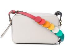 rainbow strap shoulder bag