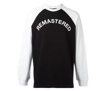 """Sweatshirt mit """"Remastered""""-Print"""