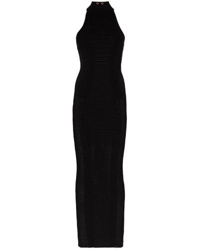 Schmales Neckholder-Kleid