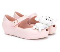 Cat and Mouse ballerina shoes