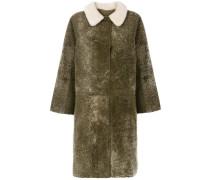 Cascade shearling coat