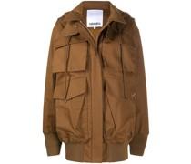 Oversized-Jacke mit Cargotaschen