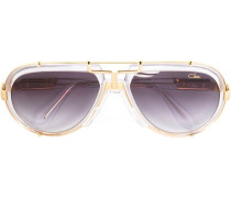 - '642' Pilotenbrille - unisex - Acetat/Metall