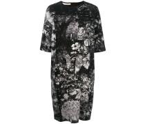 T-Shirt-Kleid mit Print