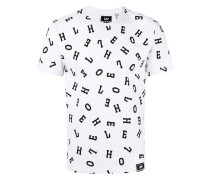 T-Shirt mit Buchstaben-Print - men - Baumwolle
