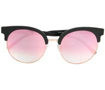 Runde Sonnenbrille mit Farbverlauf