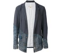 Jeans-Sakko mit Kontrasteinsatz - men