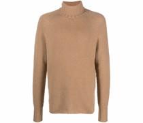 knitted virgin wool-blend jumper