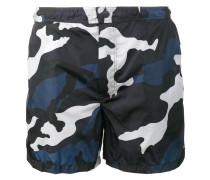 Badeshorts mit Camouflage-Print - men