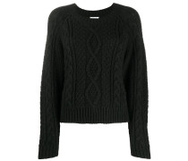 P.A.R.O.S.H. chunky cable knit jumper