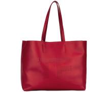 - Perforierter Shopper - women - Kalbsleder