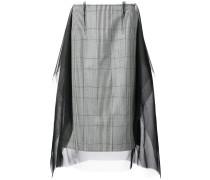 décortiqué check long skirt - Unavailable