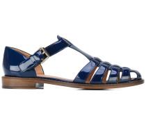 Sandalen mit Schnalle - women - Leder/Lackleder