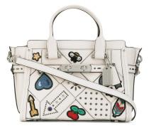 Verzierte Handtasche - women - Leder