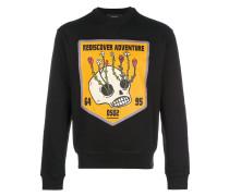 Rediscover Adventure print sweatshirt