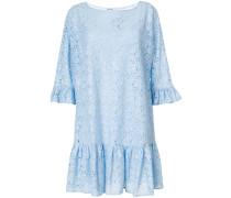 lace drop waist mini dress